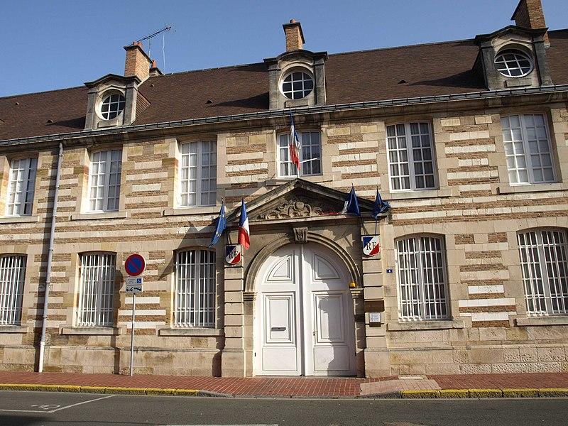 Photo du Monument Historique Hôpital situé à Vitry-le-François