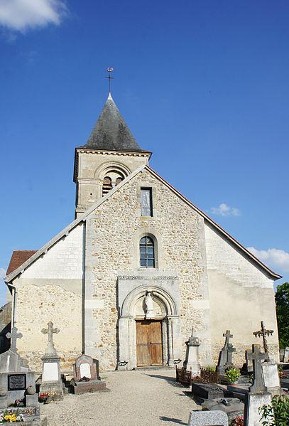 Photo du Monument Historique Eglise situé à Vraux
