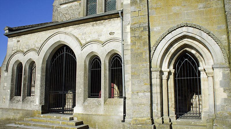 Photo du Monument Historique Eglise situé à Witry-lès-Reims