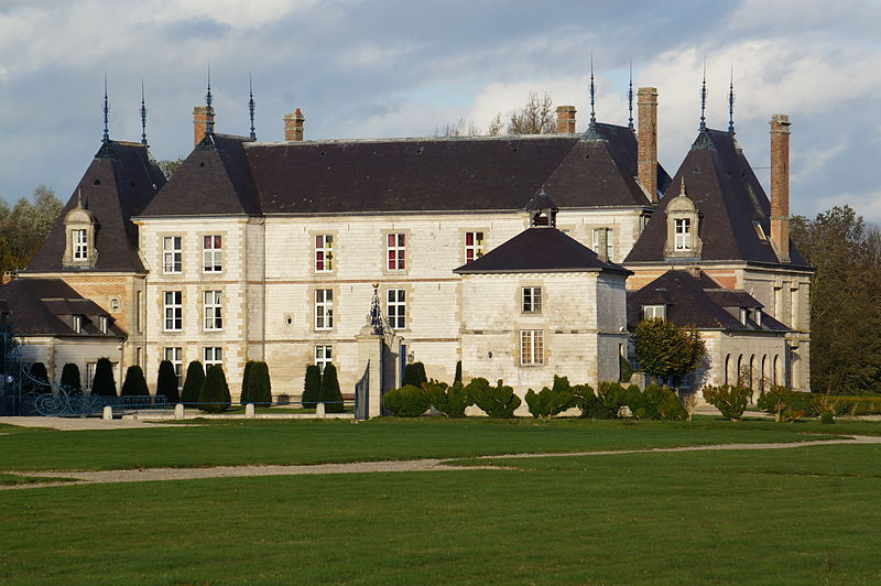 Photo du Monument Historique Château situé à Vitry-la-Ville