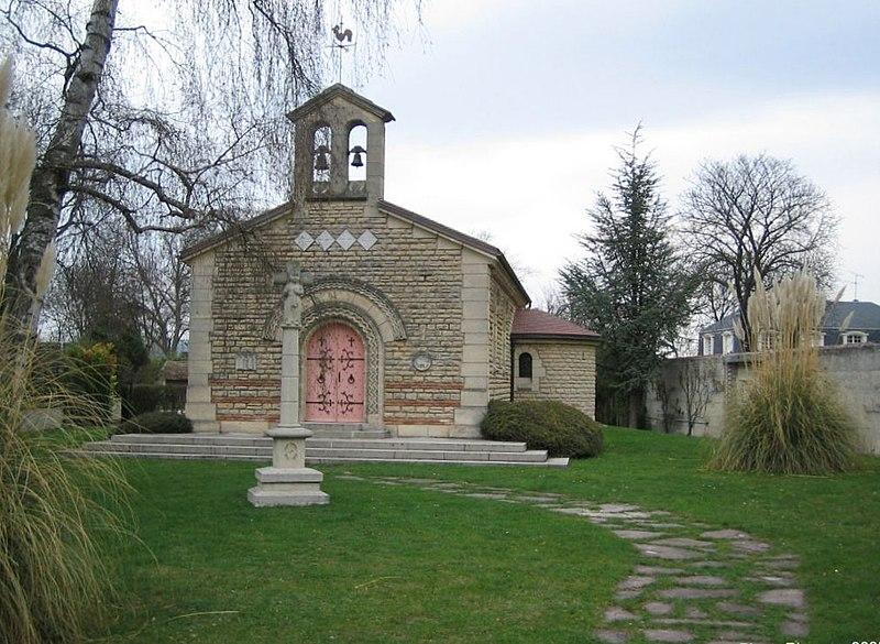 Photo du Monument Historique Chapelle Notre-Dame-de-la-Paix situé à Reims