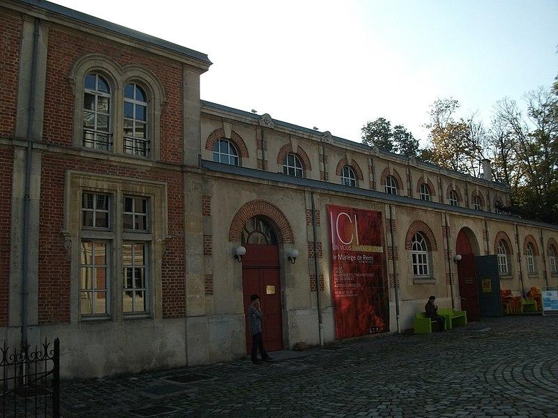 Photo du Monument Historique Cirque et manège situé à Reims