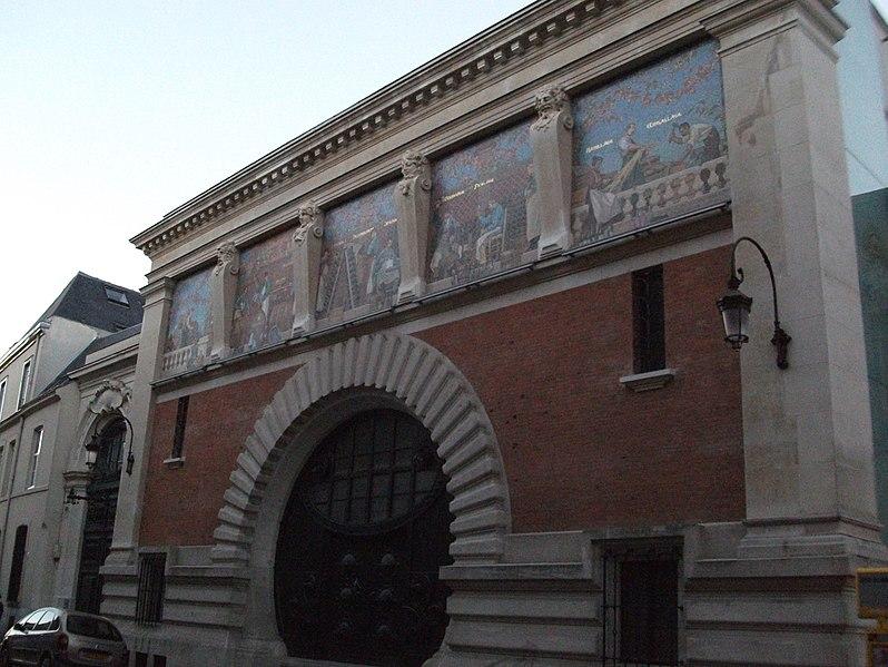 Photo du Monument Historique Cellier d'expédition situé à Reims