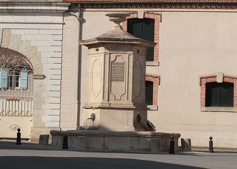 Photo du Monument Historique Fontaine publique situé à Ambonnay