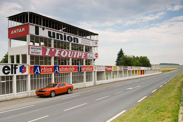 Photo du Monument Historique Circuit automobile de Gueux situé à Gueux