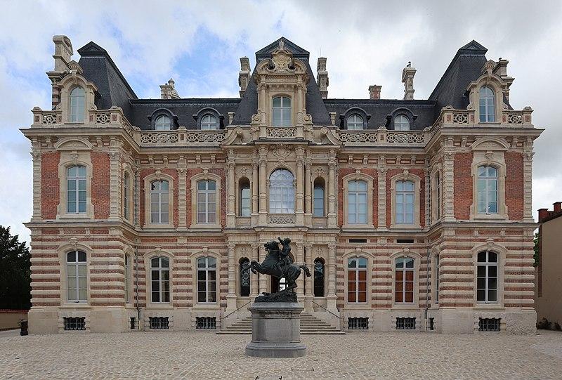 Photo du Monument Historique Château Perrier situé à Epernay
