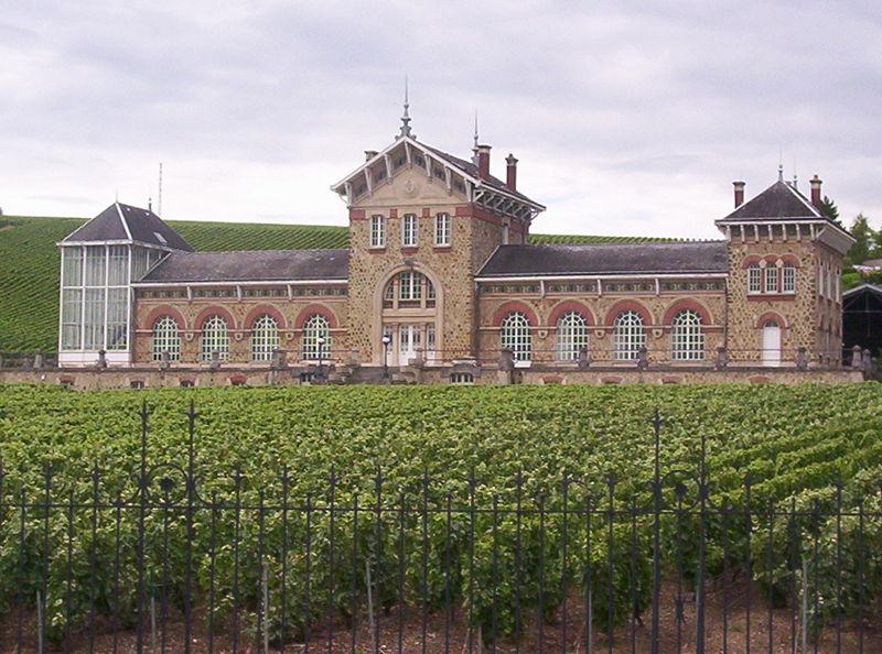 """Photo du Monument Historique Ancien établissement de viticulture de la maison Moët-et-Chandon, dit """" Le Fort Chabrol """" situé à Épernay"""