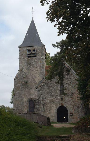 Photo du Monument Historique Eglise Saint-Martin de Meurs situé à Moeurs-Verdey
