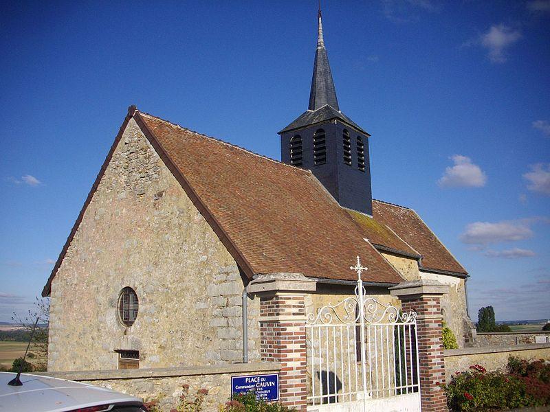 Photo du Monument Historique Église de Mondement situé à Mondement-Montgivroux