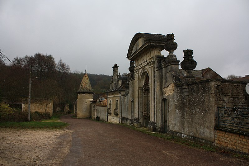 Photo du Monument Historique Abbaye de Septfontaines situé à Andelot-Blancheville