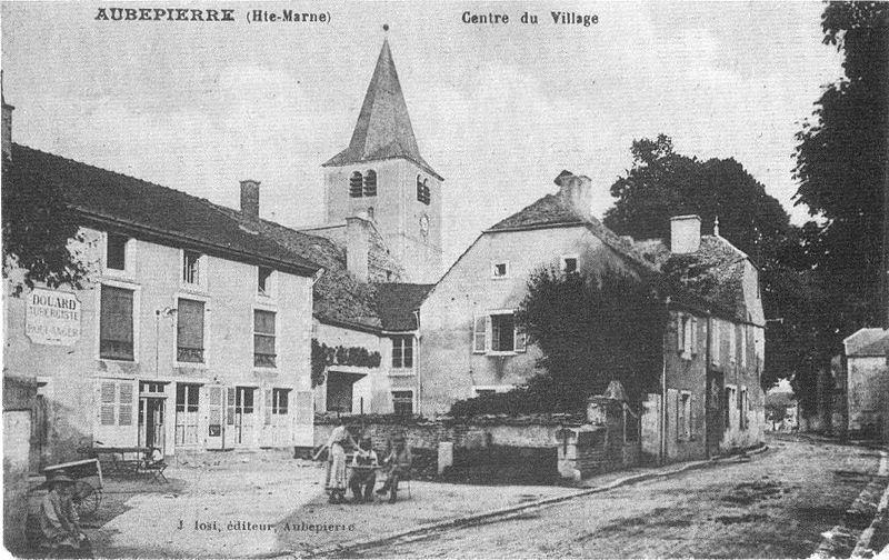 Photo du Monument Historique Eglise d'Aubepierre situé à Arc-en-Barrois