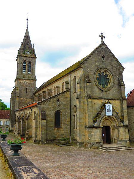 Photo du Monument Historique Eglise situé à Bourbonne-les-Bains