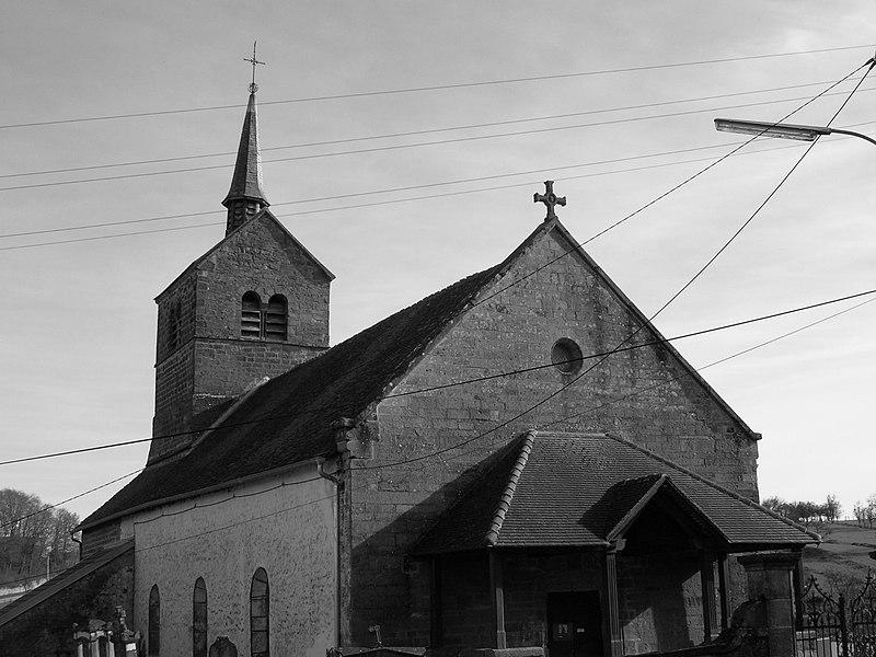 Photo du Monument Historique Eglise de Villars-Saint-Marcellin situé à Bourbonne-les-Bains