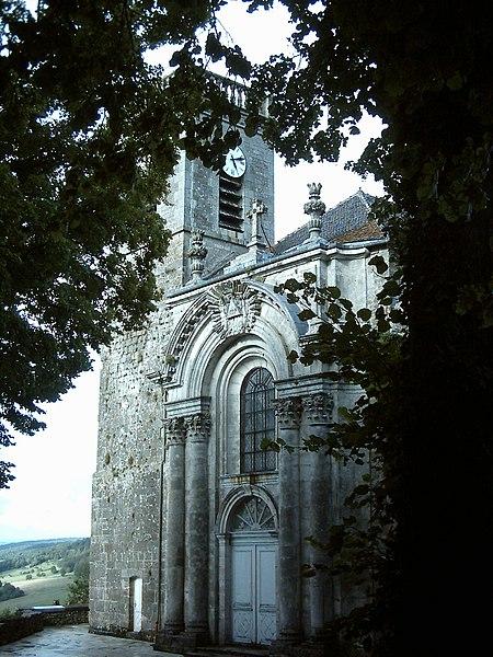 Photo du Monument Historique Eglise Notre-Dame situé à Bourmont