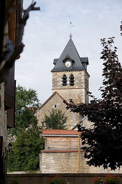 Photo du Monument Historique Eglise situé à Braux-le-Châtel