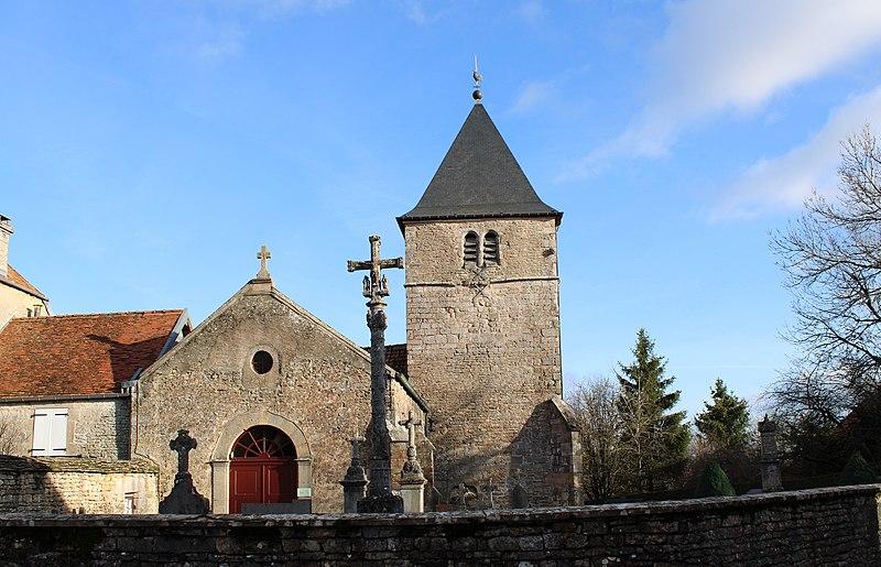 Photo du Monument Historique Eglise situé à Brennes