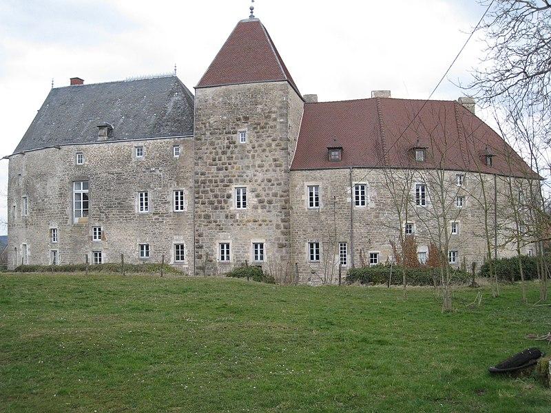 Photo du Monument Historique Château situé à Chalancey