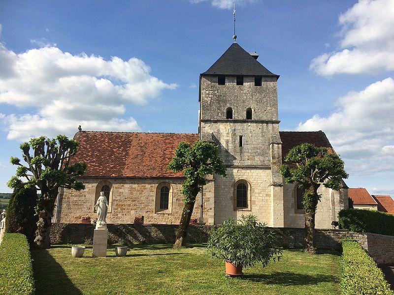 Photo du Monument Historique Eglise situé à Champigny-lès-Langres