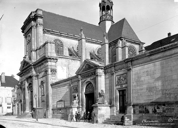 Photo du Monument Historique Collège situé à Chaumont