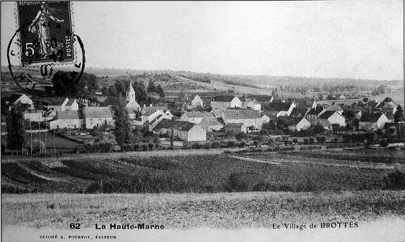 Photo du Monument Historique Eglise de Brottes situé à Chaumont