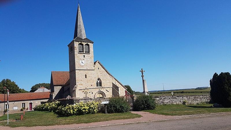 Photo du Monument Historique Eglise situé à Choiseul