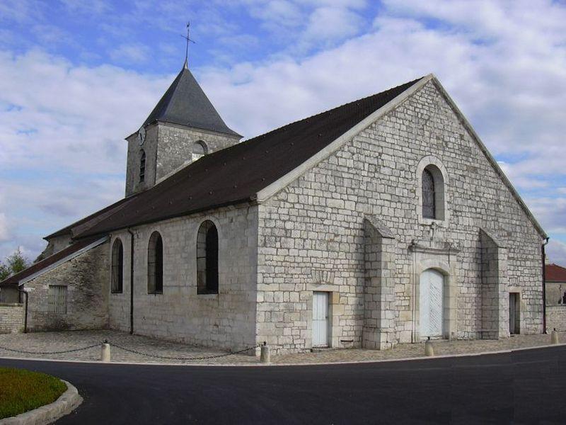Photo du Monument Historique Eglise situé à Colombey-les-Deux-Eglises
