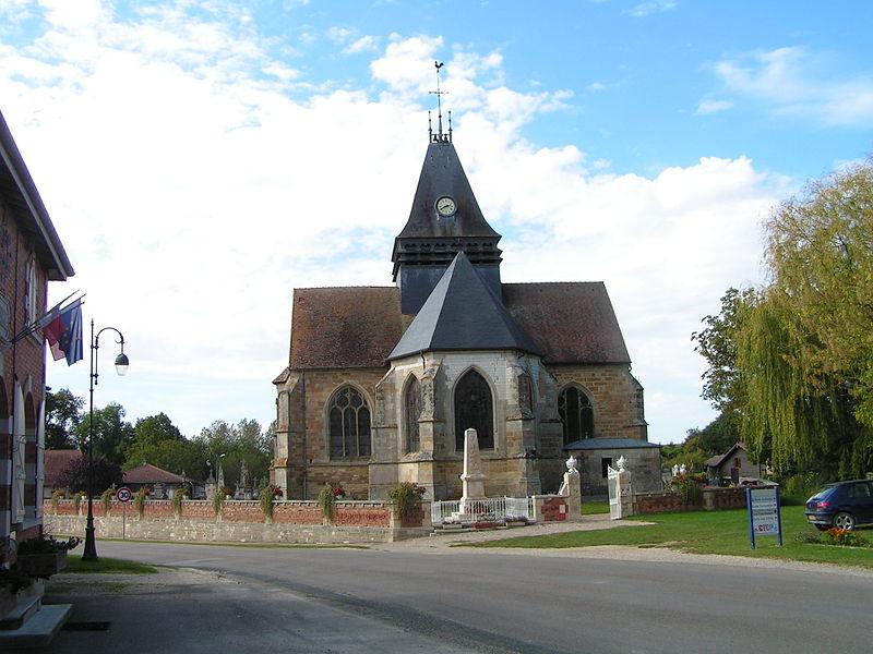 Photo du Monument Historique Eglise situé à Droyes