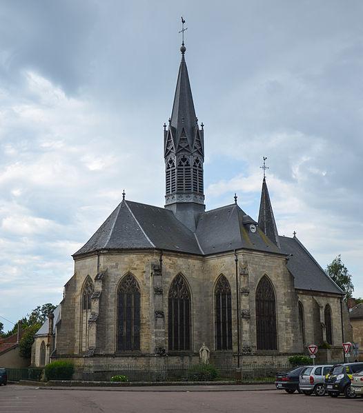 Photo du Monument Historique Eglise Saint-Laurent d'Eclaron situé à Eclaron-Braucourt-Sainte-Livière