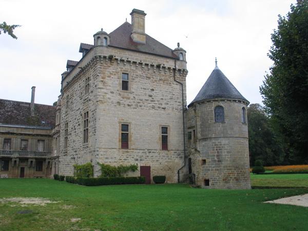 Photo du Monument Historique Château du Pailly situé à Le Pailly
