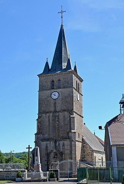 Photo du Monument Historique Eglise situé à Heuilley-Cotton