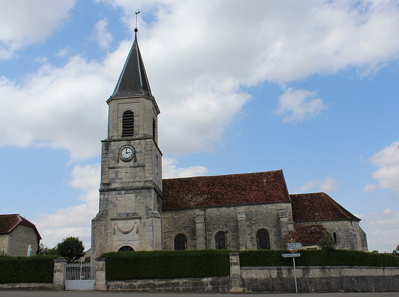 Photo du Monument Historique Eglise situé à Lachapelle-en-Blaisy