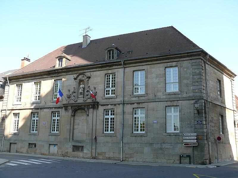 Photo du Monument Historique Séminaire (grand) situé à Langres