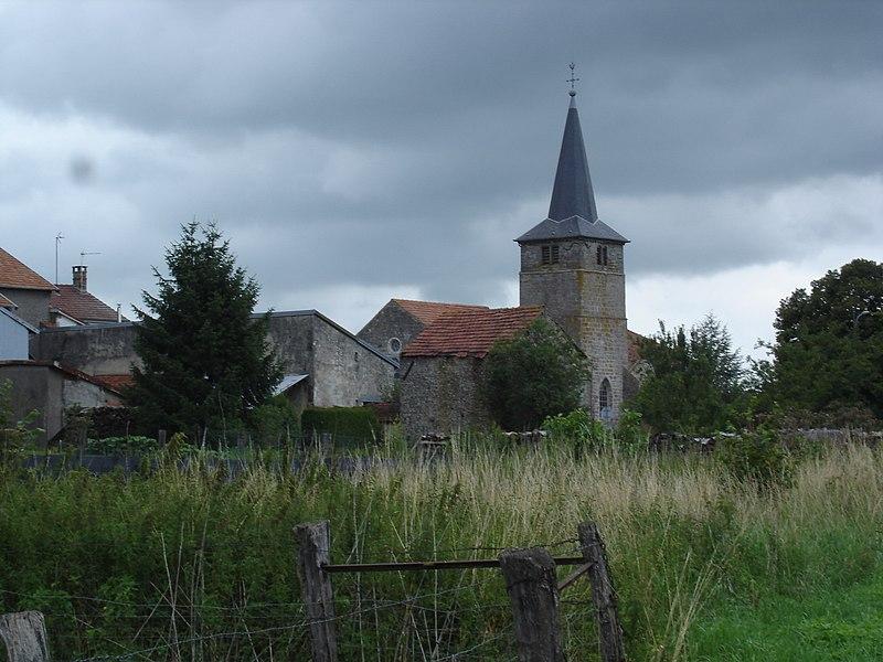 Photo du Monument Historique Eglise de Lénizeul situé à Val-de-Meuse