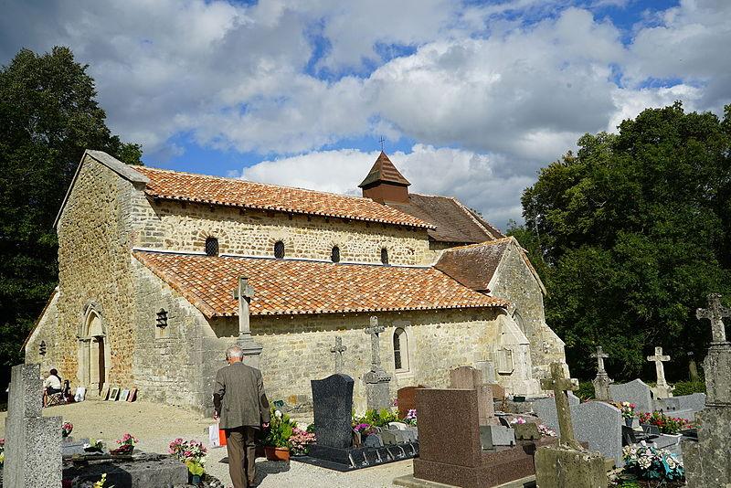 Photo du Monument Historique Chapelle Saint-Aubin situé à Moëslains