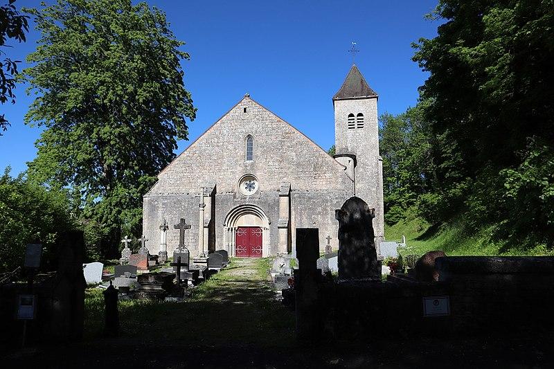Photo du Monument Historique Eglise situé à Montsaugeon
