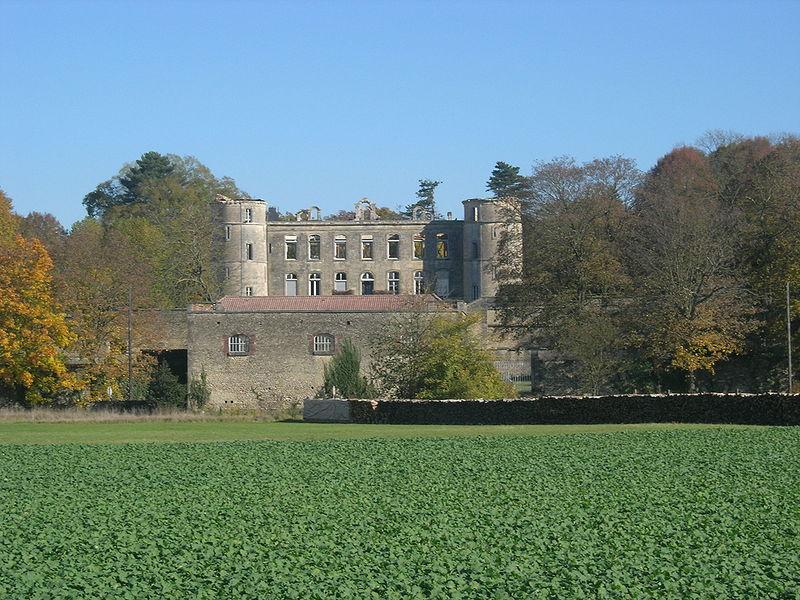 Photo du Monument Historique Château de Tremilly situé à Nully-Trémilly