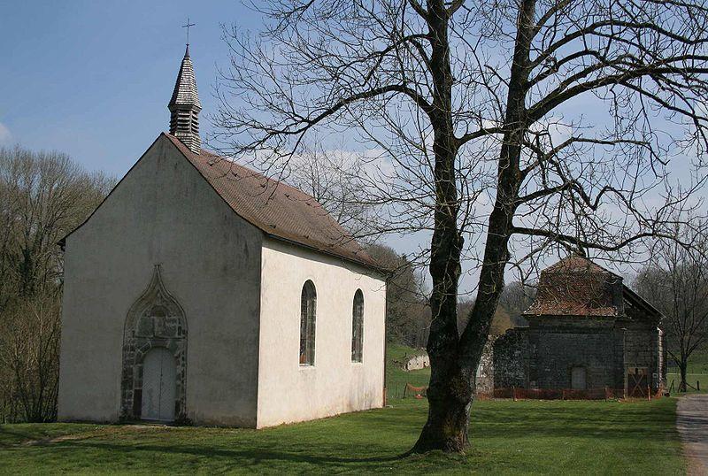 Photo du Monument Historique Abbaye de Morimond (ruines) situé à Parnoy-en-Bassigny