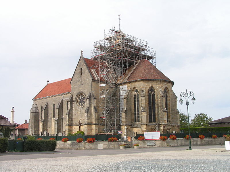 Photo du Monument Historique Eglise Notre-Dame de la Nativité situé à Perthes