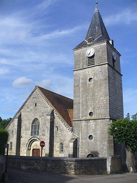 Photo du Monument Historique Eglise situé à Poulangy