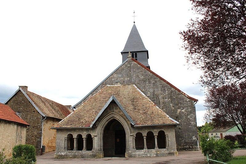 Photo du Monument Historique Eglise situé à Prez-sous-Lafauche