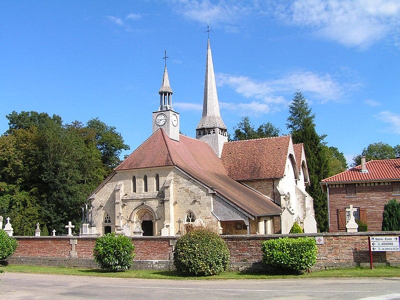 Photo du Monument Historique Eglise Notre-Dame-en-sa-Nativité situé à Puellemontier