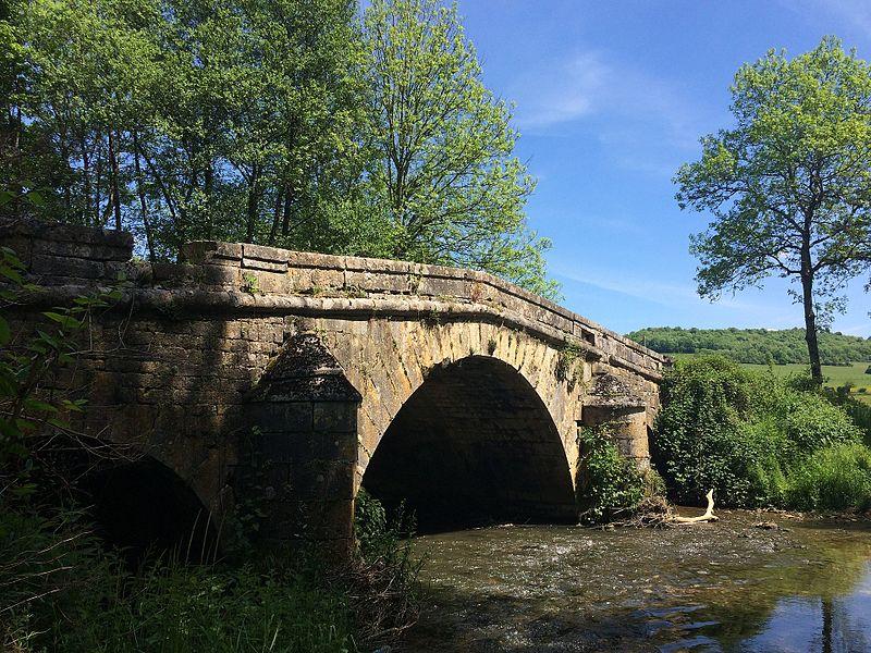 """Photo du Monument Historique Pont dit """"Pont Romain"""" situé à Rolampont"""