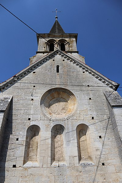 Photo du Monument Historique Eglise Saint-Pierre-ès-Liens d'Arbot situé à Rouvres-sur-Aube