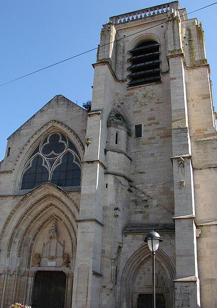 Photo du Monument Historique Eglise Notre-Dame situé à Saint-Dizier
