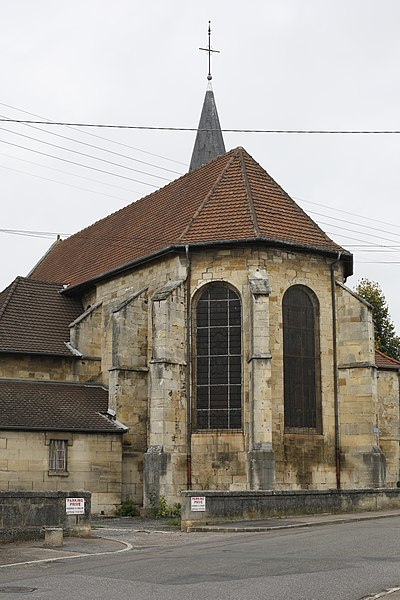 Photo du Monument Historique Eglise de la Noue situé à Saint-Dizier