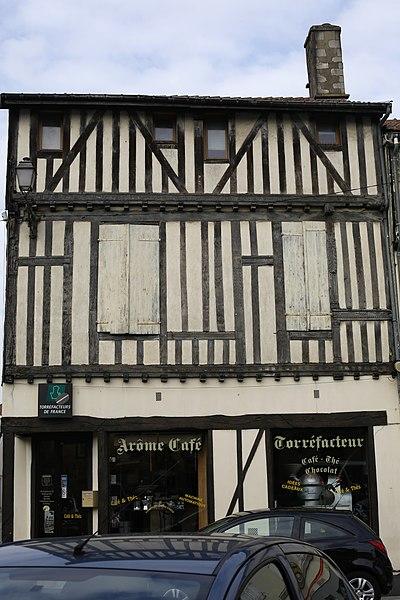 Photo du Monument Historique Maison situé à Saint-Dizier