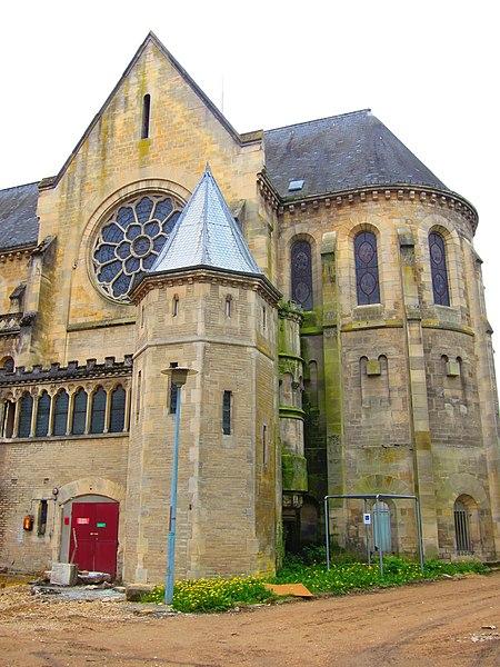 Photo du Monument Historique Ancien monastère des Dames de l'Assomption, englobé actuellement dans le centre hospitalier situé à Saint-Dizier