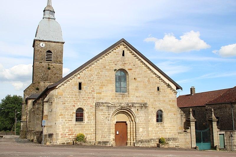Photo du Monument Historique Eglise Saint-Blaise situé à Serqueux