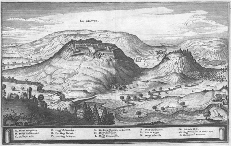 Photo du Monument Historique Ancienne cité de la Mothe (également sur commune de Outremécourt) situé à Soulaucourt-sur-Mouzon