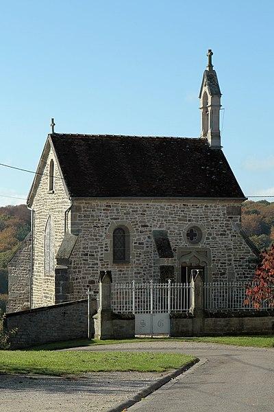 Photo du Monument Historique Chapelle Saint-Gengoulph situé à Terre-Natale